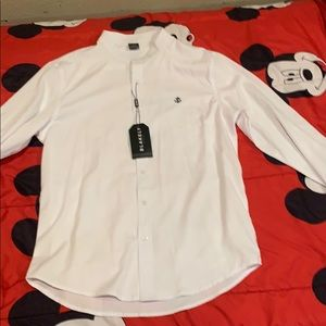 Blakely white button up